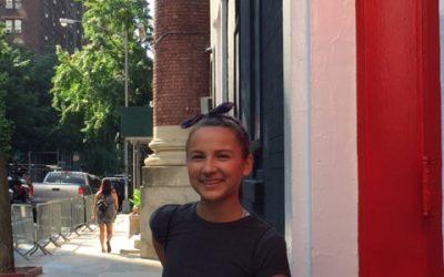 Portia Attends Neighborhood Playhouse