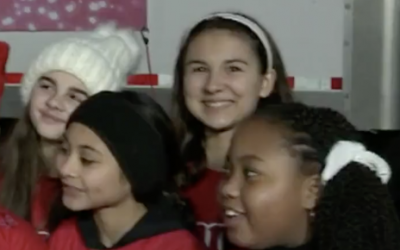 Portia Performs on CBS Philly w/Annie Orphans