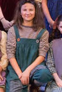 Portia as Pepper in ANNIE at the Walnut Street Theatre