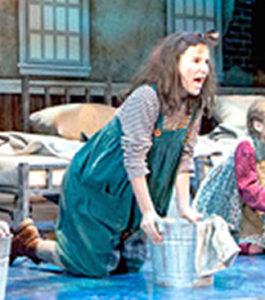 Portia as Pepper in ANNIE
